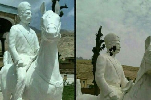 سردار اسعد به خانه برگشت و بر اسب خود سوار شد